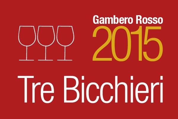 Gambero Rosso 3 bicchieri 2015