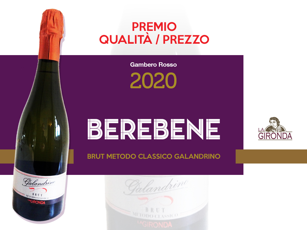 Galandrino Brut - Berebene Gambero Rosso
